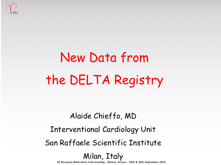 New Data from the DELTA Registry