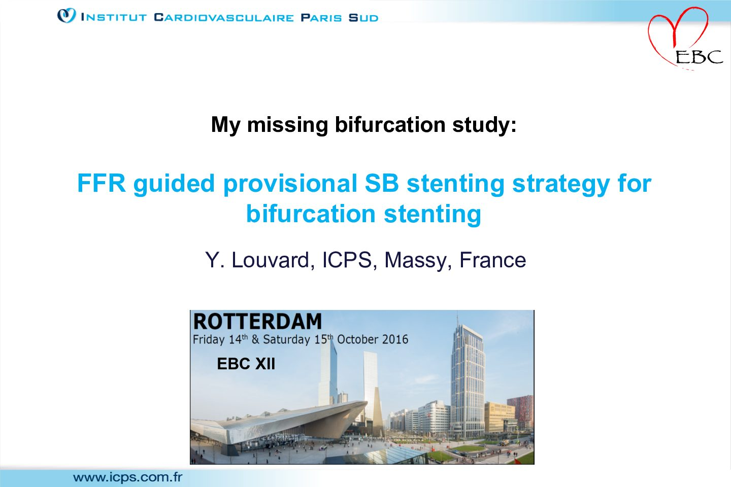 FFR guided provisional SB stenting strategy for bifurcation stenting