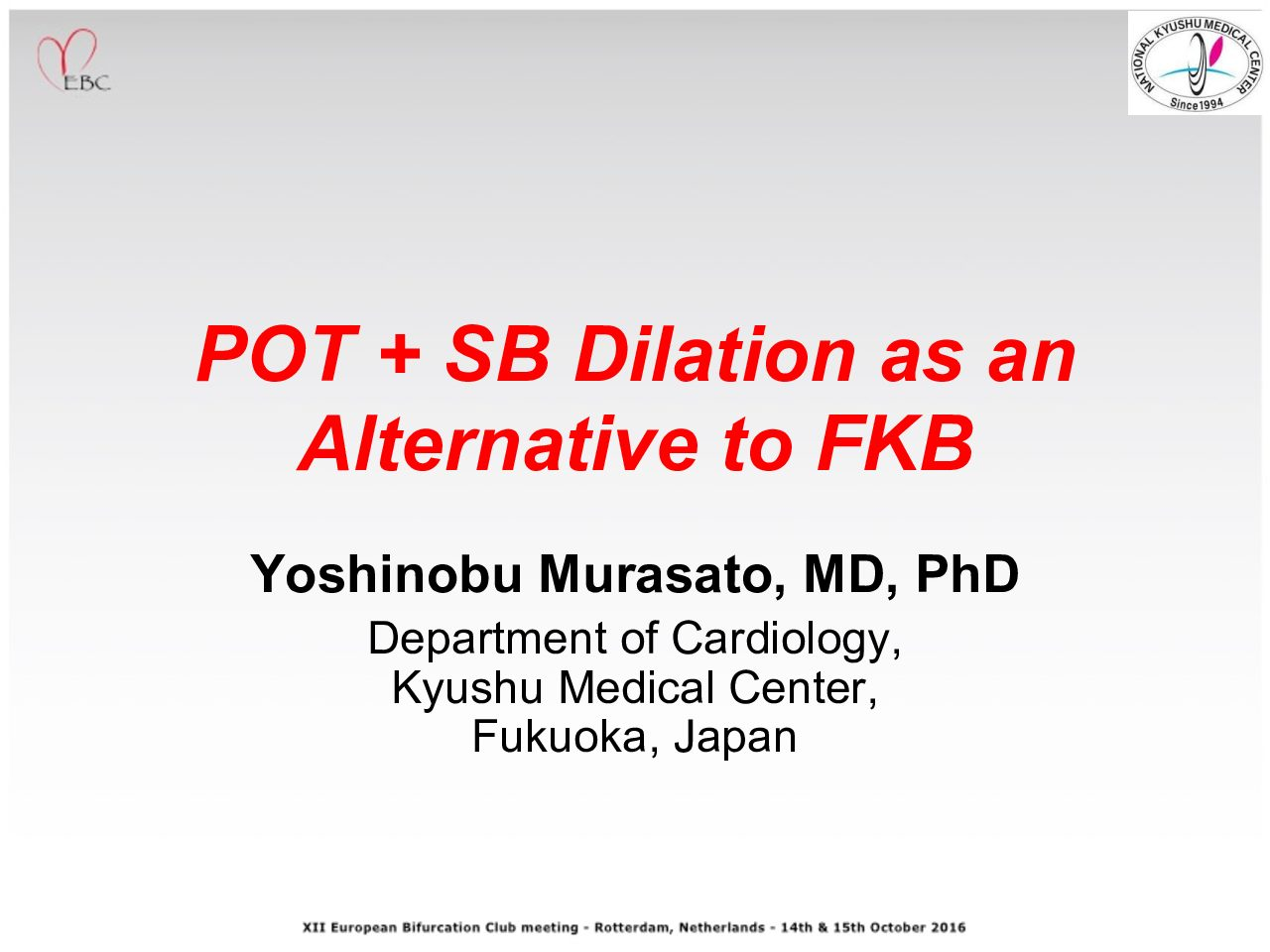 POT + SB Dilation as an Alternative to FKB