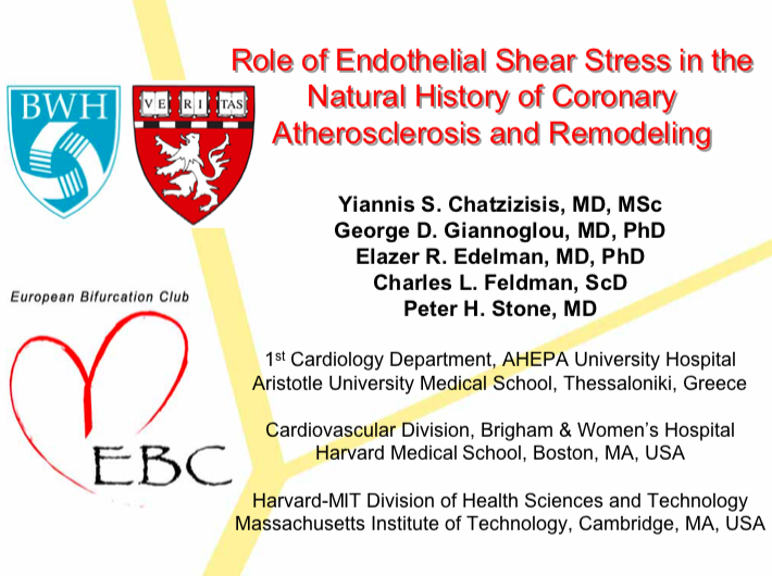 Role of Endothelial Shear Stress in the Natural History of Coronary Atherosclerosis and Remodeling