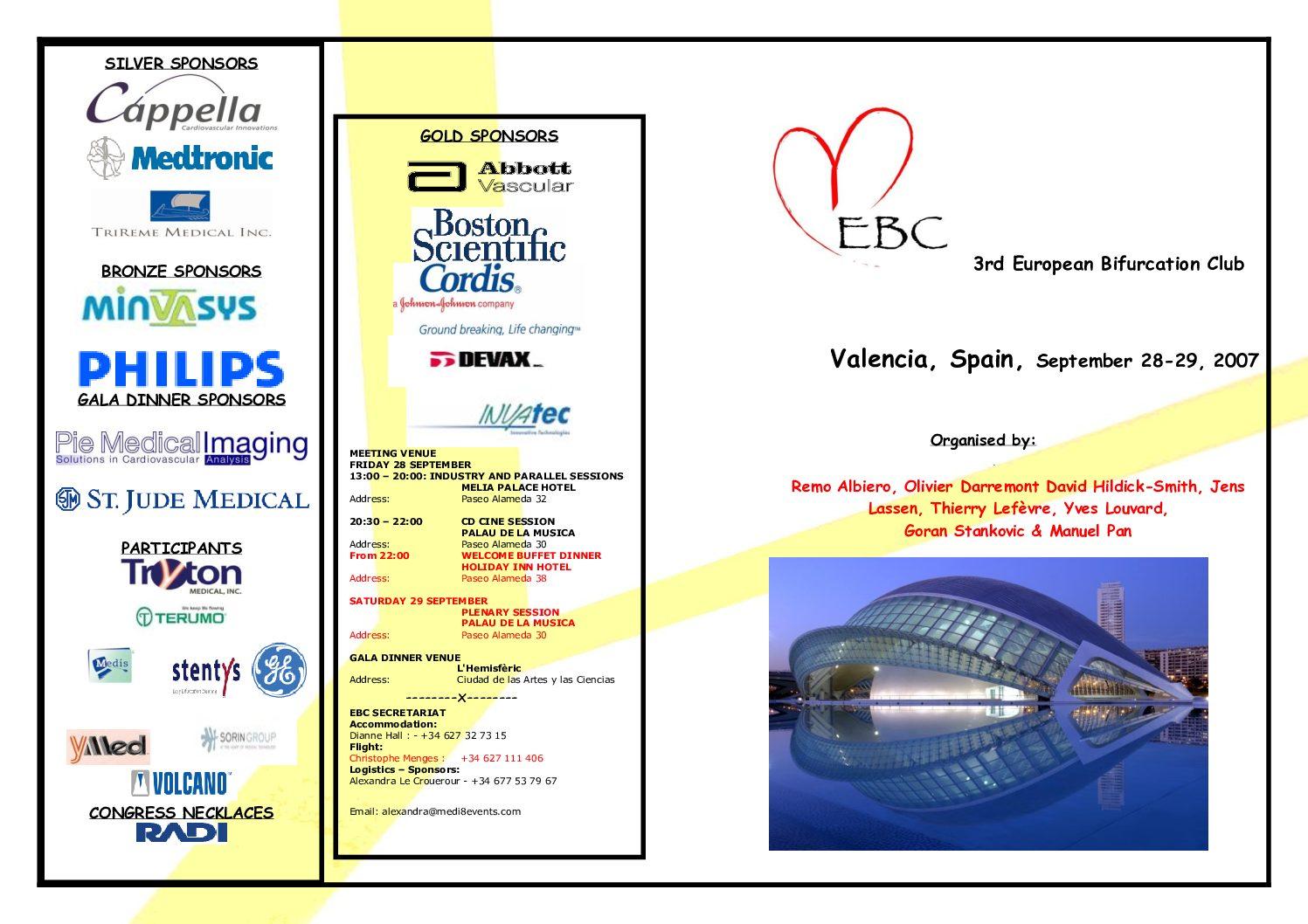 EBC 2007 – Programme
