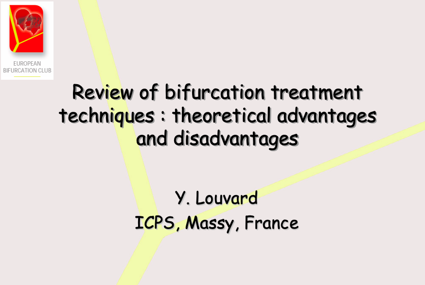 Review of bifurcation treatment techniques theoretical advantages and disadvantages