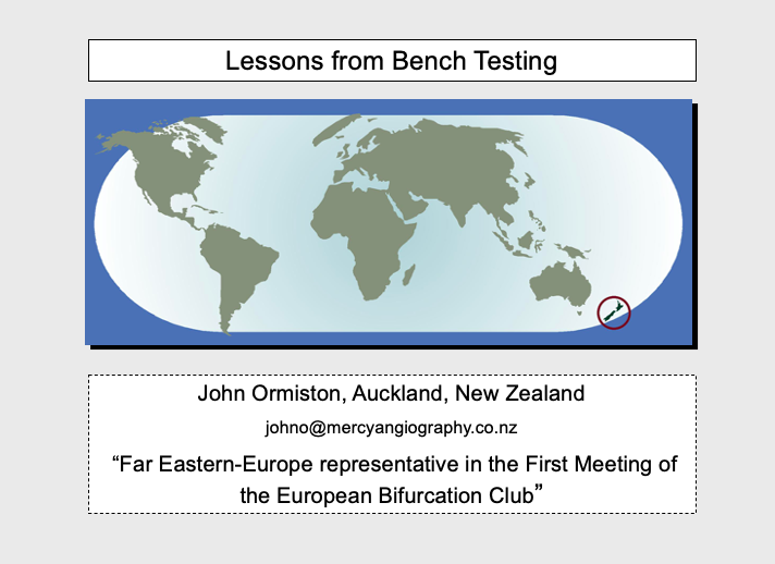 Lessons from bench testing