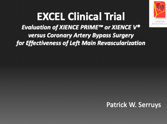 EXCEL Clinical Trial