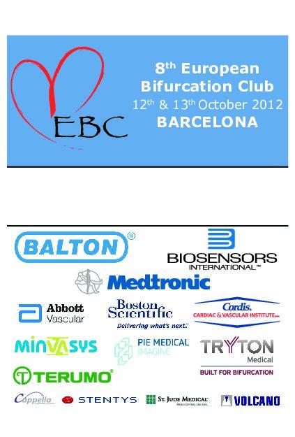 EBC 2012 – Programme
