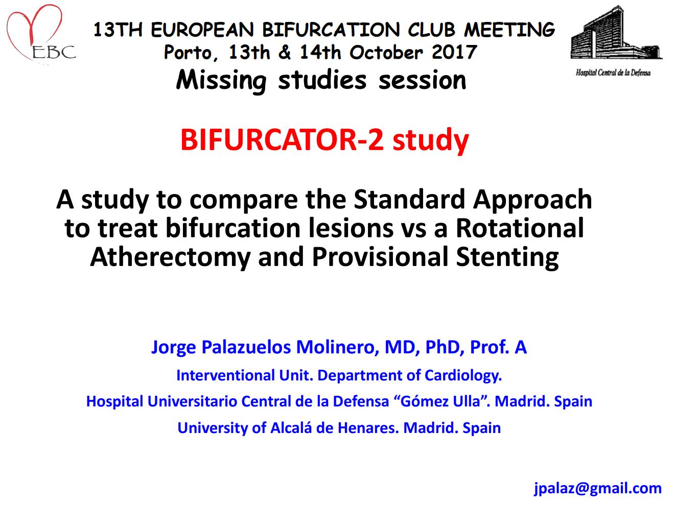 BIFURCATOR-2 study