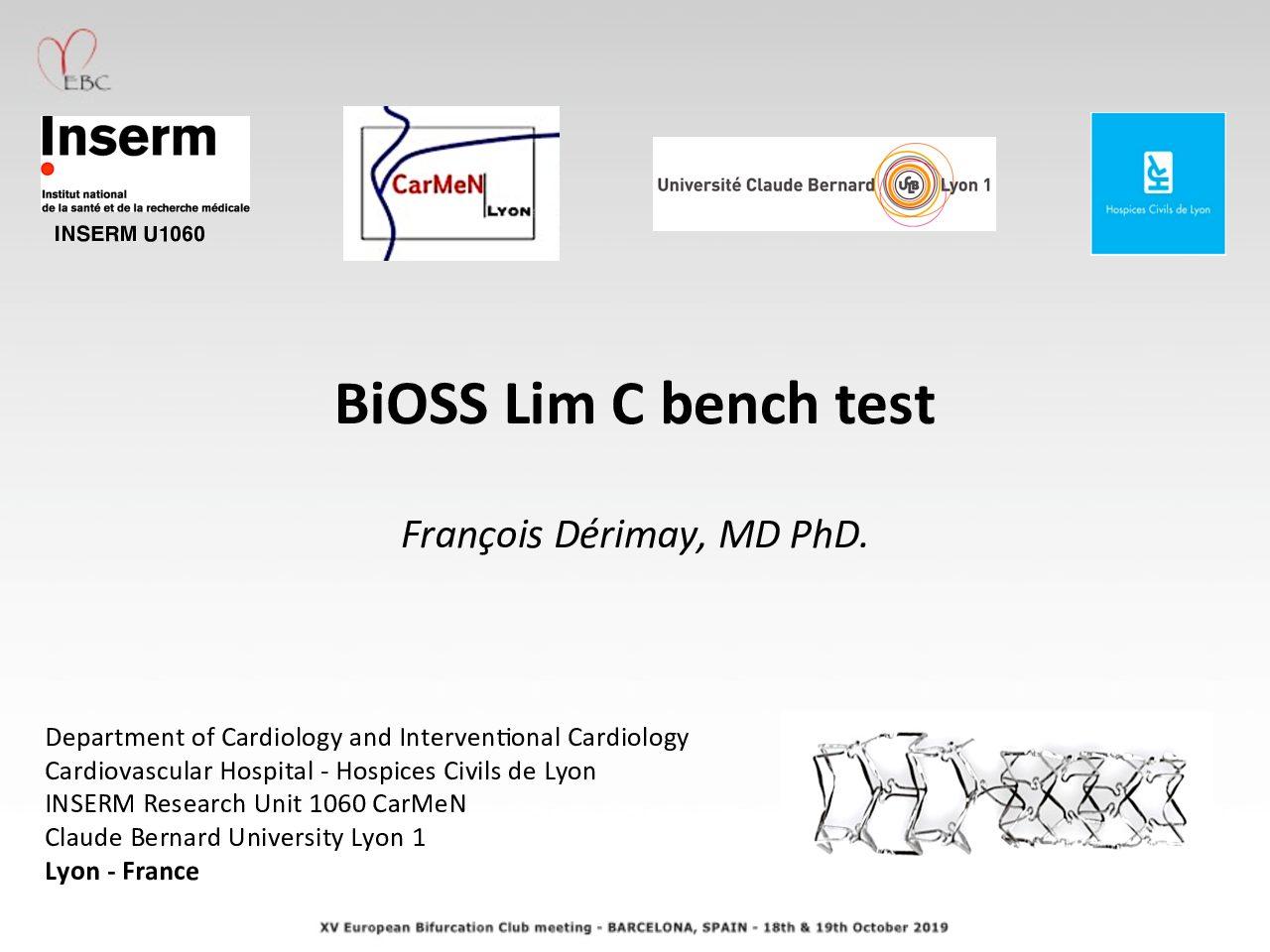 BiOSS Bench Study