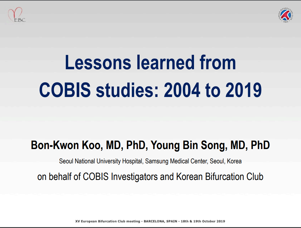 Lessons Learned from COBIS Studies 2004 to 2019