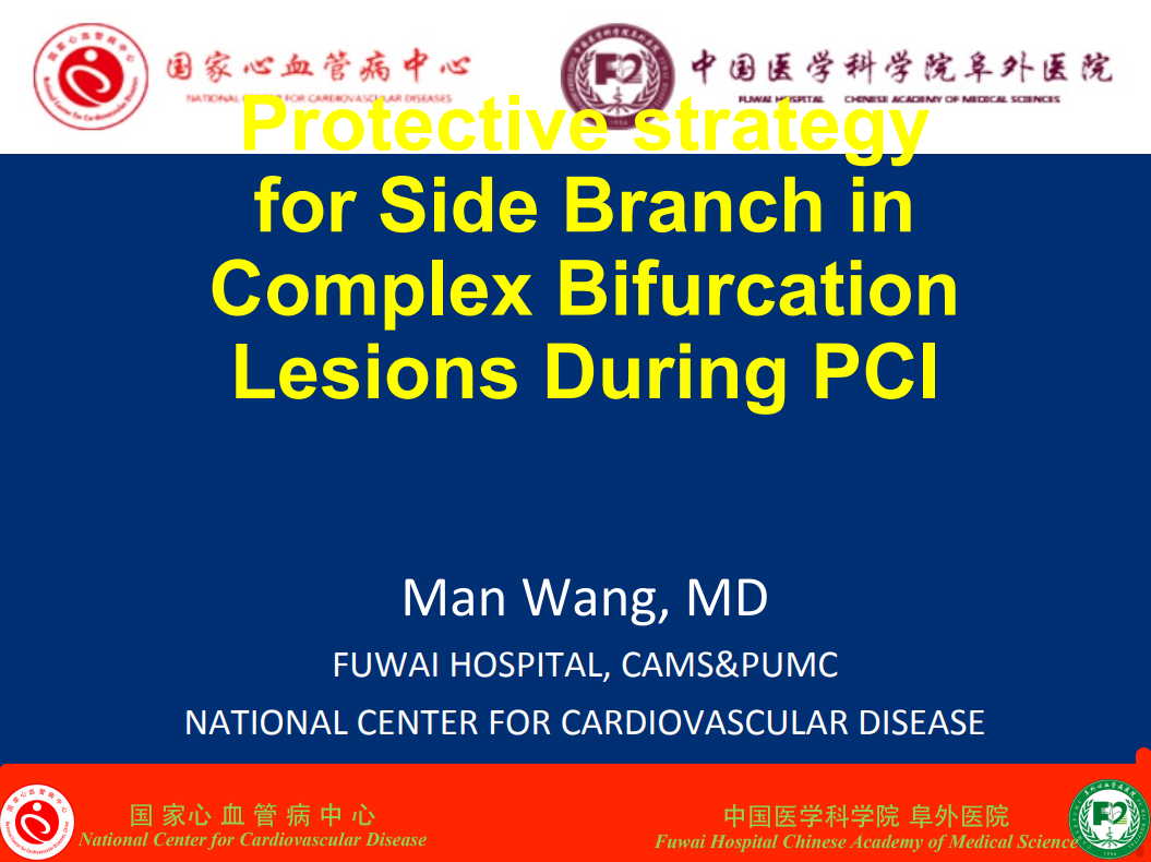 Protective Strategy for Side Branch in Complex Bifurcation Lesions During PCI