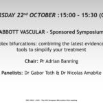 ABBOTT – Complex bifurcations: combining the latest evidence and tools to simplify your treatment